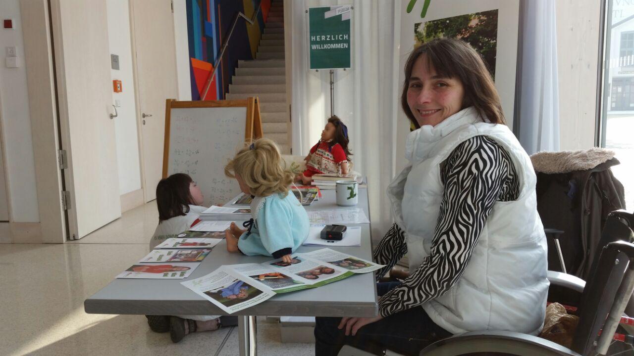 Infostand im Kultur+Kongress Forum Altötting
