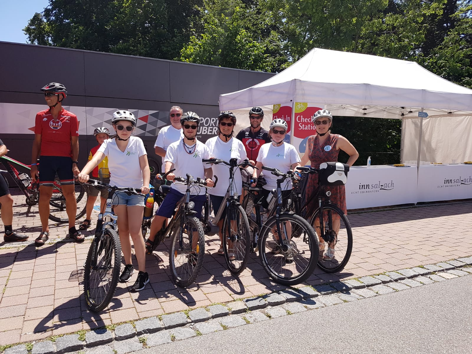 Start VWD beim Inn-Salzach-Rad-Opening am 30.6.2019