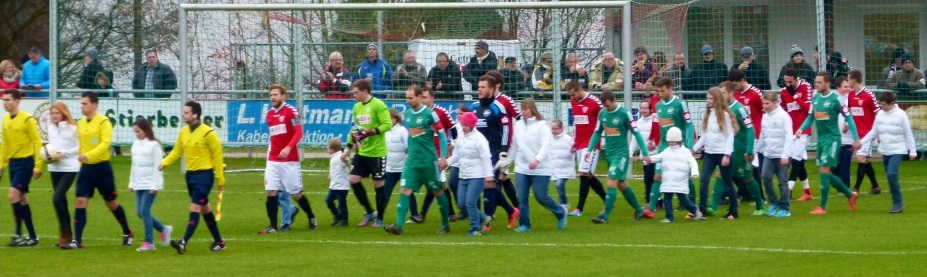 Von wegen Down: Einlaufen beim TSV Buchbach