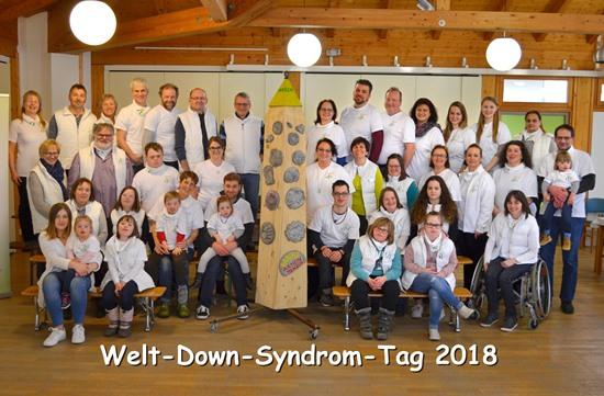 Feier des Welt-Down-Syndrom-Tags 2018 im Mehrgenerationenhaus der AWO Altötting